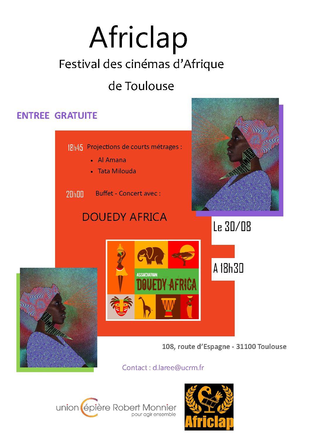 AFRICLAP: Festival des cinémas d'Afrique de Toulouse